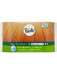 [Amazonブランド]Presto! フローリングワイパー用 ウェットシート 厚手 120枚(20枚x6個)