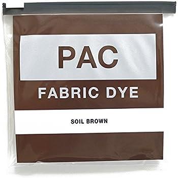 PAC FABRIC DYE 繊維用染料 col.06 ソイルブラウン