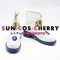 【サイズ選択可】コスプレ靴 ブーツ J-0267 魔法少女リリカルなのは 高町なのは 女性24.5CM