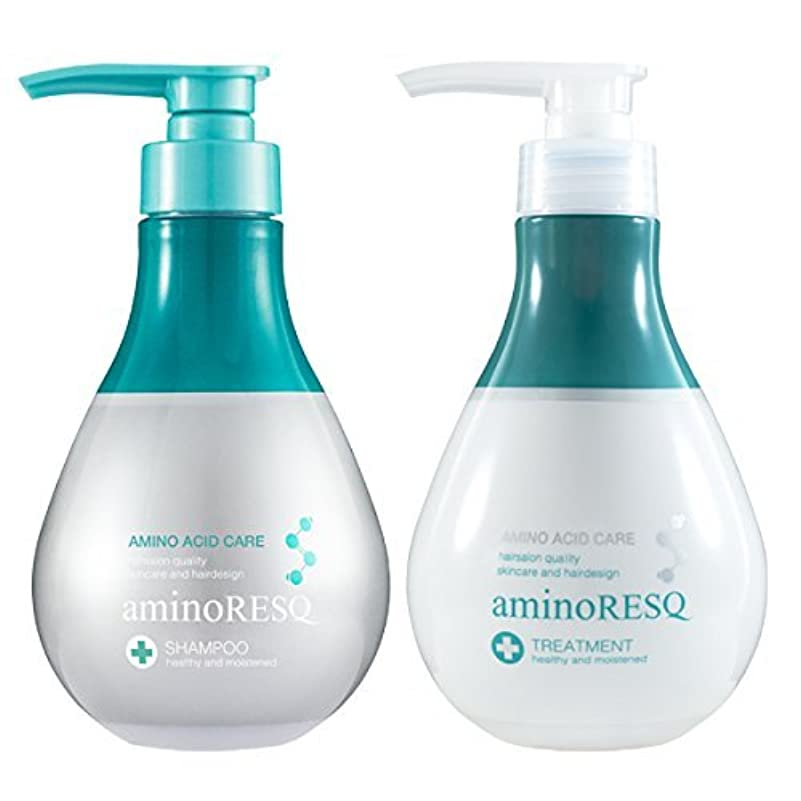 影響を受けやすいです絶滅した拷問aminoRESQ アミノレスキュー シャンプー&トリートメントセット (フローラル)