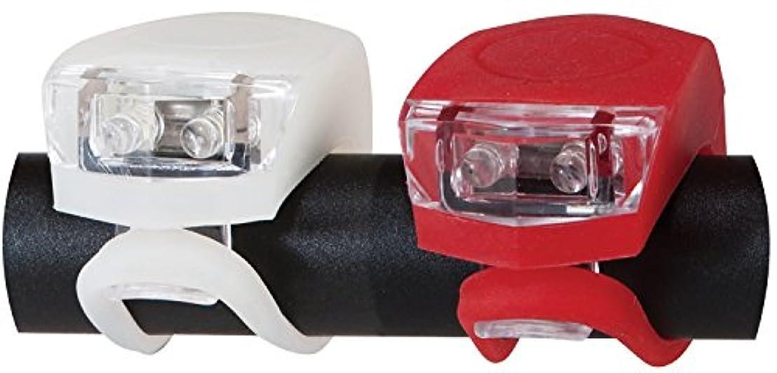 テスピアン普通のオートマトンDiamondback Flex Combo Led Bicycle Light Set, Red/White/Black by Diamondback