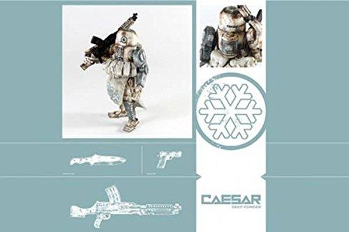 WWRp DEEP COMM CAESAR (1/12スケール ABS&ソフトビニール塗装済み可動フィギュア)