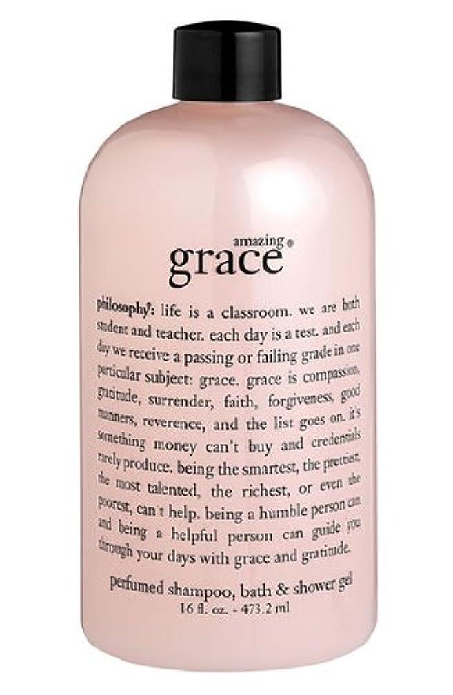 動的足音道徳教育amazing grace shampoo, bath & shower gel (アメイジング グレイス シャンプー&シャワージェル) 16.0 oz (480ml) for Women