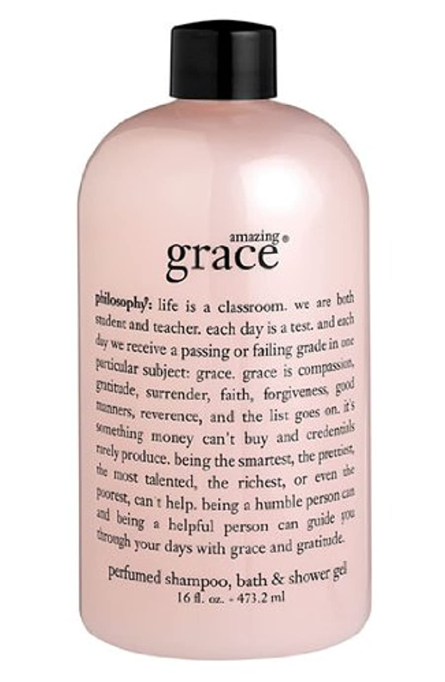 ヒゲクジラ治世密度amazing grace shampoo, bath & shower gel (アメイジング グレイス シャンプー&シャワージェル) 16.0 oz (480ml) for Women