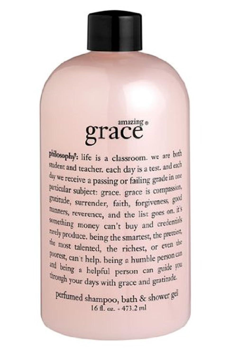 コウモリ観客ハンドブックamazing grace shampoo, bath & shower gel (アメイジング グレイス シャンプー&シャワージェル) 16.0 oz (480ml) for Women