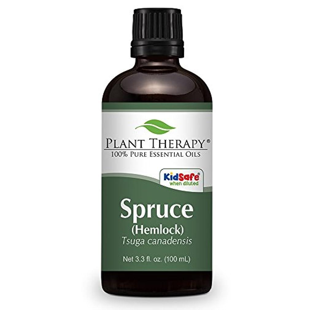 ロープ奇妙な雇用者Spruce (Hemlock) Essential Oil. 100 ml (3.3 oz). 100% Pure, Therapeutic Grade