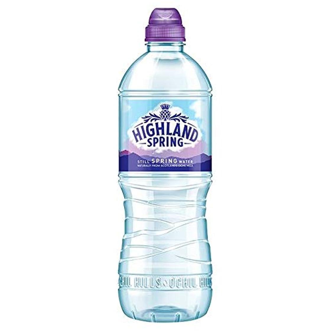 一目アーカイブ伸ばす[Highland Spring] 高地春のスポーツボトル750ミリリットル - Highland Spring Sports Bottle 750 Ml [並行輸入品]