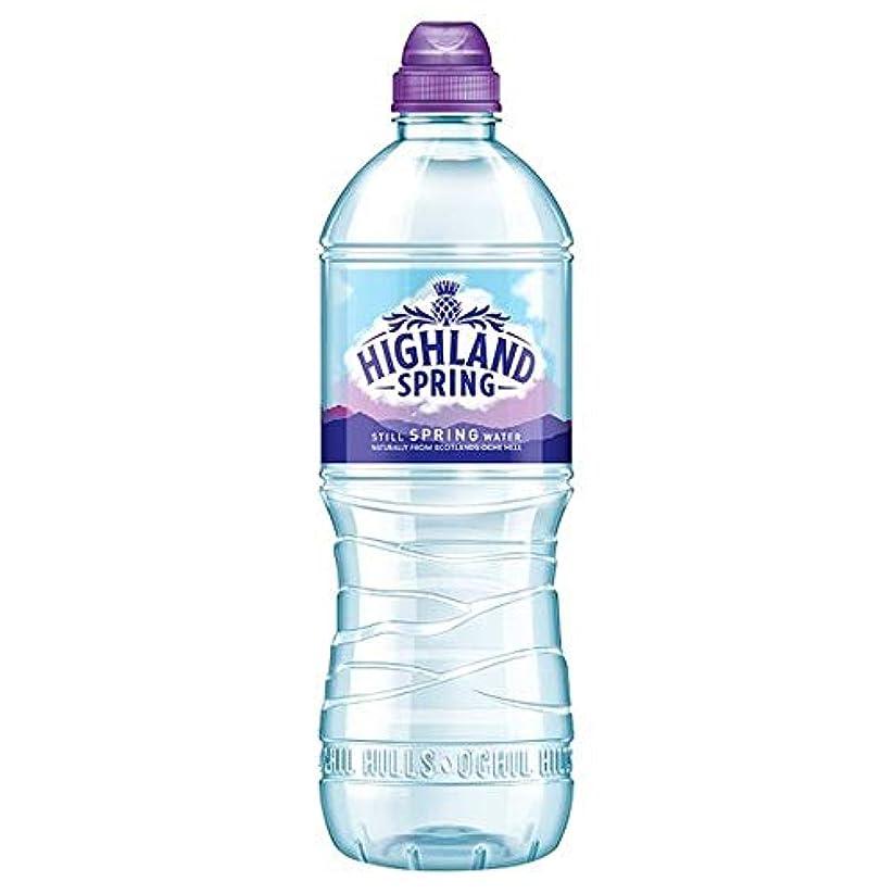 走るチェス以来[Highland Spring] 高地春のスポーツボトル750ミリリットル - Highland Spring Sports Bottle 750 Ml [並行輸入品]