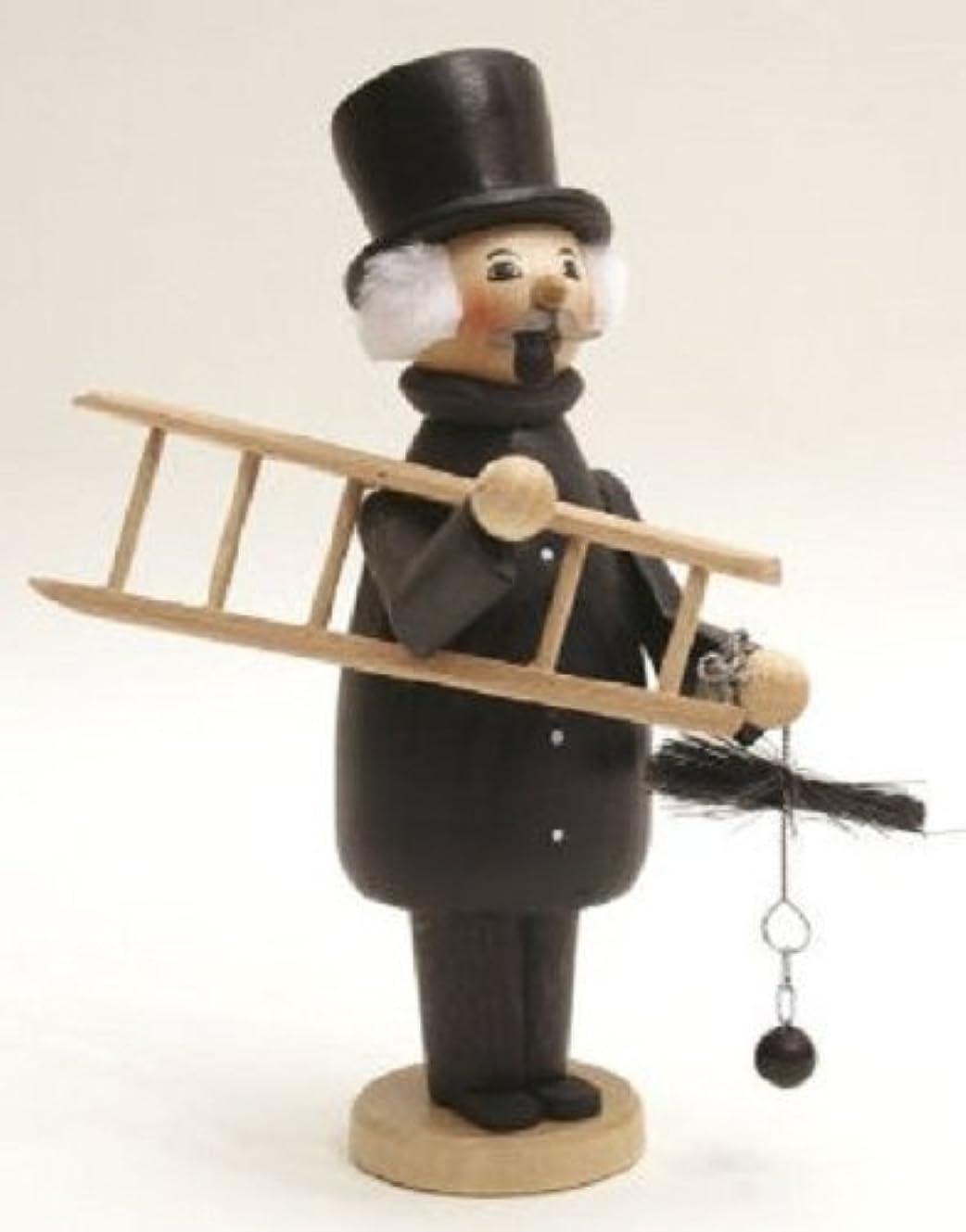 マティス酔っ払いそれる煙突スイープGermanクリスマスIncense Smoker Made inドイツエルツ山地Burner