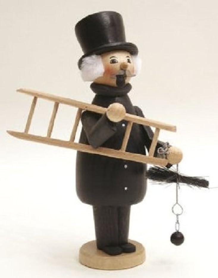 ボット塊改修煙突スイープGermanクリスマスIncense Smoker Made inドイツエルツ山地Burner