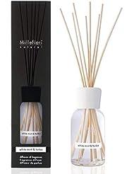 ミッレフィオーリ(Millefiori) Natural ホワイトミント&トンカ(WHITE MINT & TONKA) リードディフューザー250ml [並行輸入品]