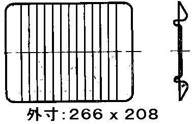 リンナイ ガステーブル専用部品 グリル焼き網 071-010-000