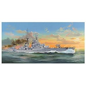 トランペッター 1/350 イタリア海軍 重巡洋艦 ザラ プラモデル 05347