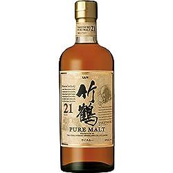 竹鶴21年ピュアモルト [ ウイスキー 日本 700ml ]