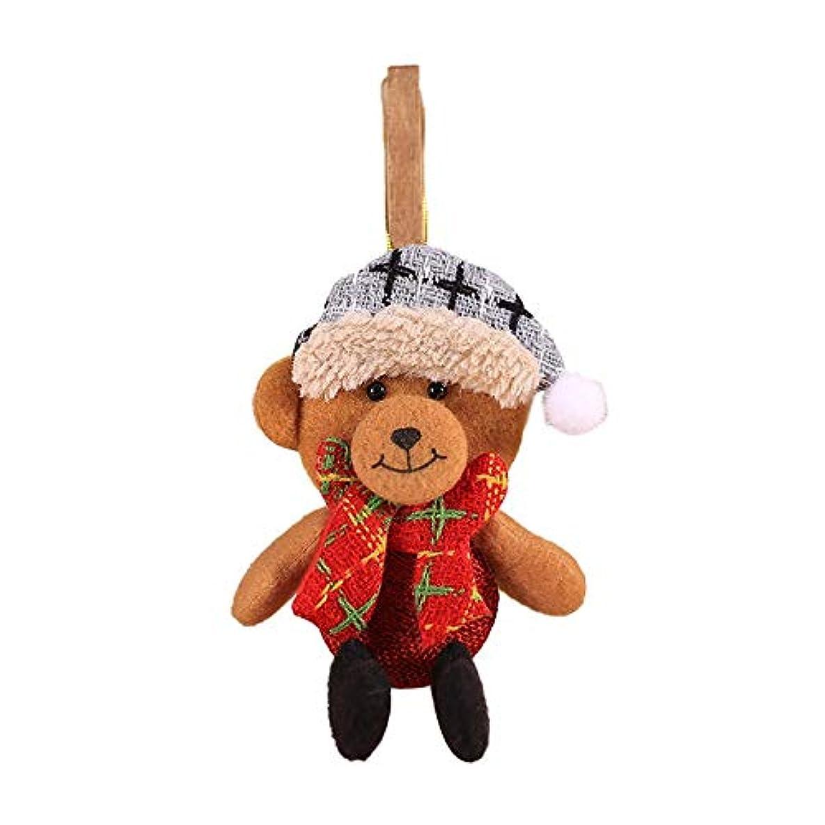 ゴミ箱を空にする学期石鹸クリスマスの装飾創造的なクリスマスのペンダントクリスマスツリーのペンダントクリスマスの素敵なミニ人形の小道具