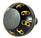 ゴメクサス(Gomexus) パワーハンドルノブメタル シマノ(Shimano) タイプBスピニング ベイトリールハンドル 用41mm