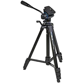 SLIK 三脚 GX 6400 VIDEO 4段 レバーロック 21mmパイプ径 ビデオ雲台 クイックシュー式 216934