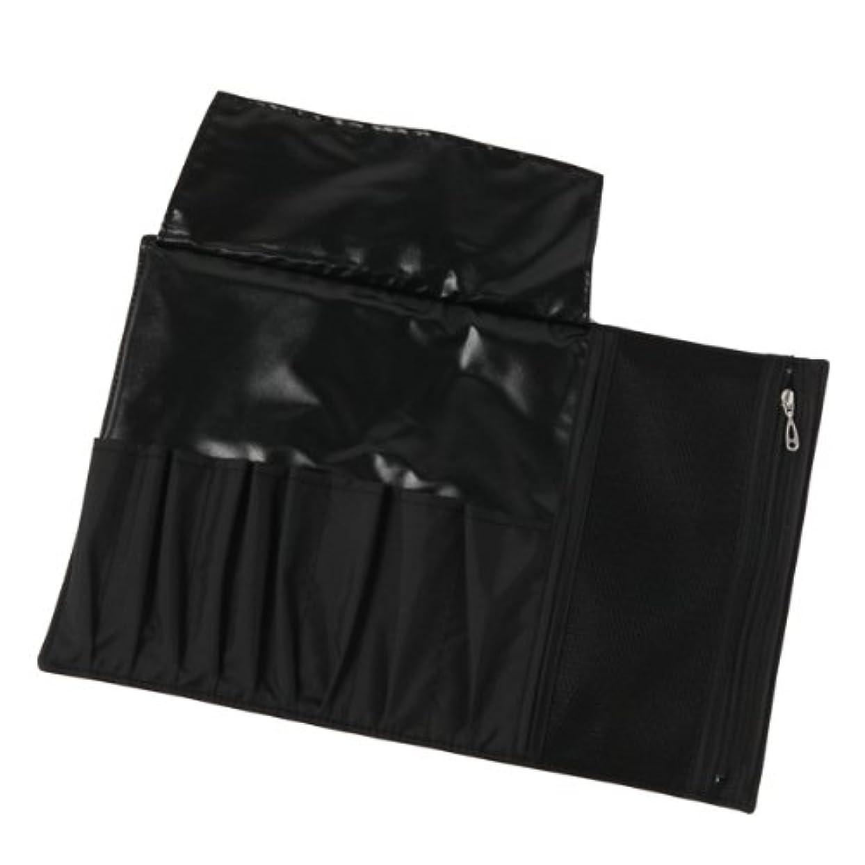 メイクブラシ用 ナイロンブラシケース(黒) 長軸用