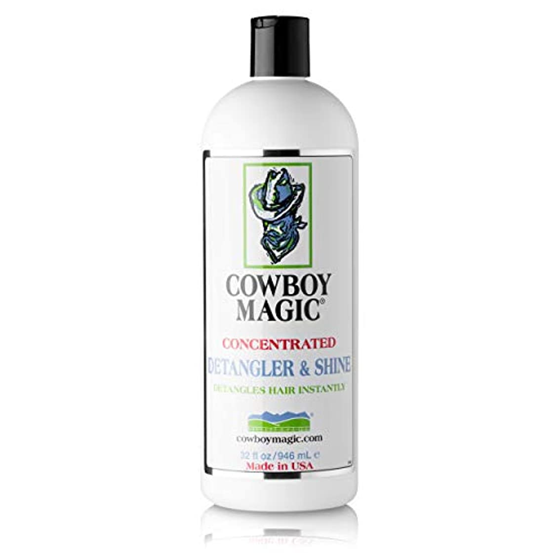 マーキー霧割合Charmar Land and Cattle COWBOY MAGIC Detangler Shine for Horse by Charmar Land and Cattle