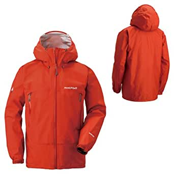 S (SSOG)サンセットオレンジ モンベル MONT-BELL メンズ レインダンサー ジャケット
