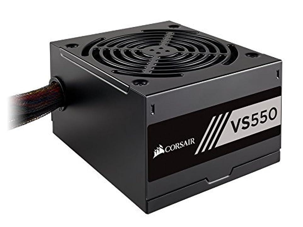 骨折模倣休日にCorsair VS Series VS550 550 W Active PFC 80 PLUS White Certified Power Supply (CP-9020171-NA) [並行輸入品]