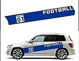 ノーブランド SPORTS 01 FOOTBALL フットボール サッカー 蹴球 サッカー好きにおススメ ナンバリング(左)