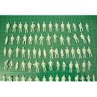 プライザー ジオラマ 模型 人間 ミニフィギュア 建築 卒業 制作 (1/200 100体)