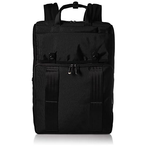 [エースジーン] ace.GENE リュック クロスタイドs 43cm B4 2気室 PC・タブレット端末収納 セットアップ 54675 01 (ブラック)