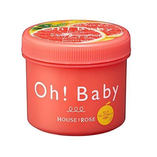 【期間限定】HOUSE OF ROSE ハウス オブ ローゼ Oh! Baby ボディ スムーザー PGF (ピンクグレープフルーツの香り) 350g