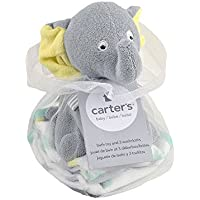 Carters Elephant Bath Toy and Washcloths by Triboro