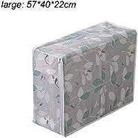 Yunt 収納バッグ ストレージバッグ 衣類収納 布団収納ケース 大容量 防水 多機能 寝具収納 厚手 旅行/引越し/アウトドア用