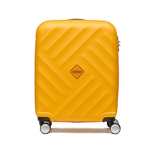 アメリカンツーリスター サムソナイト スーツケース Samsonite (GRAVITY・グラビティ・AN8*007) 76cm (Lサイズ)(キャリーバッグ) (イエロー)