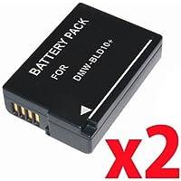 【 バッテリー 2個セット 残量表示可能 】 Panasonic DMW-BLD10 互換 バッテリー LUMIX DMC-G3 DMC-GF2 DMC-GX1X 等 対応
