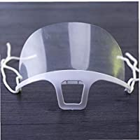 衛生マスク 透明マスク 飲食店 接客 美容 医療 育児 炊事 飛沫防止 唾液防止 抗菌 曇り防止 潤み防止 笑顔保持 飛沫防止 1個 調理用ツール