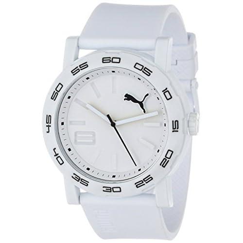 [プーマ] PUMA 腕時計 Men's Move Silicone Analog Watch クォーツ PU103201005 メンズ [バンド調節工具&高級セーム革セット]【並行輸入品】