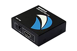 HDMI 分配器 自動 1入力2出力 対応 Movcle HDMIスプリッター HDMI 2-Port Splitter フルHD HDMI 2分配器 1X2 HDMI Splitter 3D 1080P対応