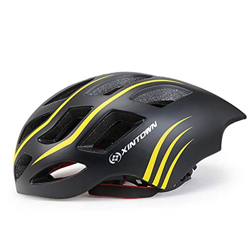 エキゾチックダメージ人道的大人用安全ヘルメットアジャスタブルロードサイクリングマウンテンヘルメット、自転車用ヘルメットマルチスポーツスケートボード、超軽量インナーパディングチンプロテクター