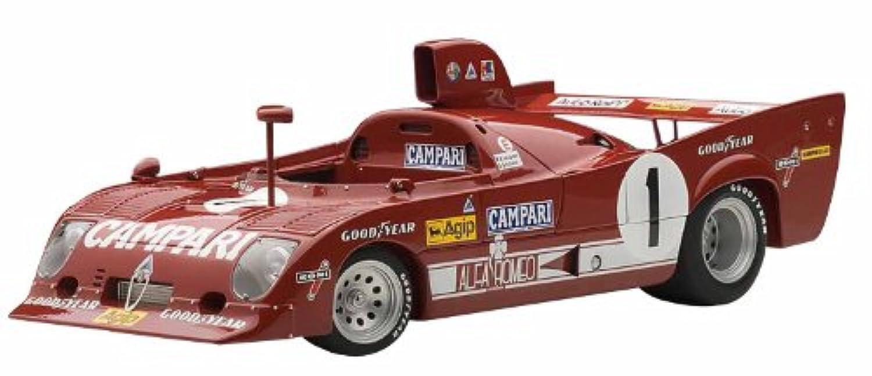 AUTOart 1/18 アルファロメオ 33 TT 12 '75 #1 (ニュル1000km優勝) メルツァリオ/ラフィット 完成品