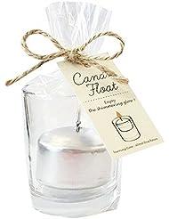 kameyama candle(カメヤマキャンドル) キャンドルフロート 「シルバー」6個セット(A7770100SI)