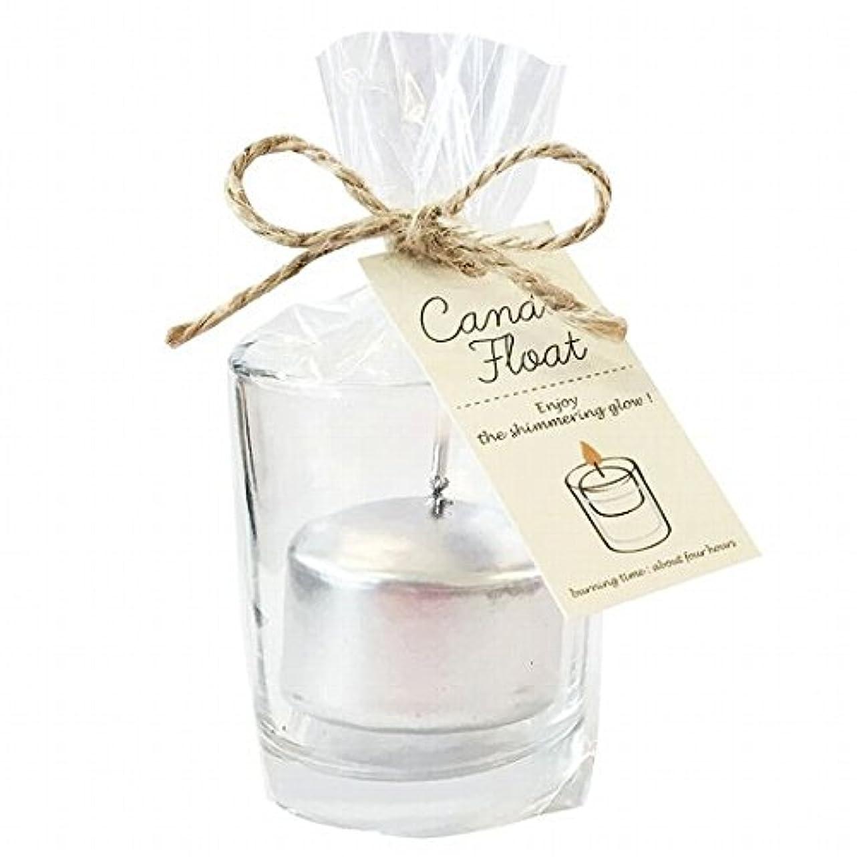 呼び起こす寝具高揚したkameyama candle(カメヤマキャンドル) キャンドルフロート 「シルバー」6個セット(A7770100SI)