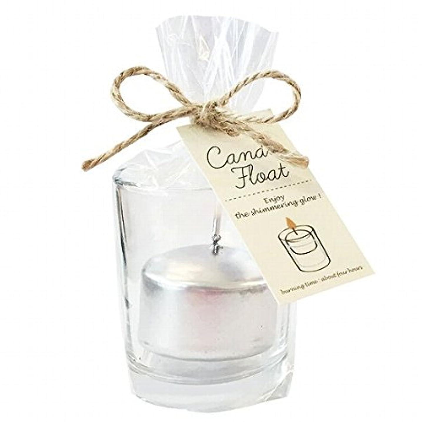 ラッシュチーター音節kameyama candle(カメヤマキャンドル) キャンドルフロート 「シルバー」6個セット(A7770100SI)