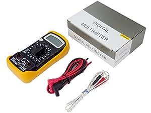 マルチデジタルテスターMAS838【携帯用】【多機能】【デジタルマルチメーター】【温度計-20度から1000度まで】取説付