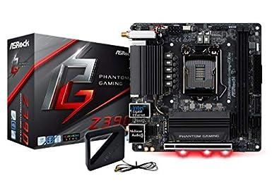 ASRock Intel Z390 チップセット搭載 Mini-ITX マザーボード Z390 Phantom Gaming-ITX/ac