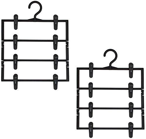サワフジ ハンガー スカート すっきり 4段 2個組み SS...
