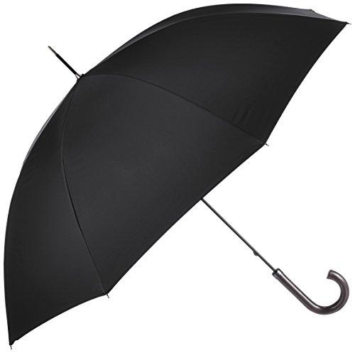 (マッキントッシュ フィロソフィ)MACKINTOSH PHILOSOPHY 紳士長傘 無地×ロゴ 超撥水仕様 21-431-20520-03 15-65 ブラック 親骨の長さ 65cm