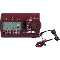 KORG (コルグ) 筝 専用チューナー 調べ WT-30K + コンタクトマイク CM-300-BKRD セット