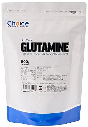 NUTRITION ( チョイス ニュートリション ) GLUTAMINE (グルタミン)500g