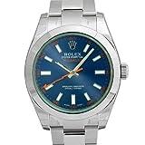 ロレックス ミルガウス グリーンガラス Zブルー 116400GV