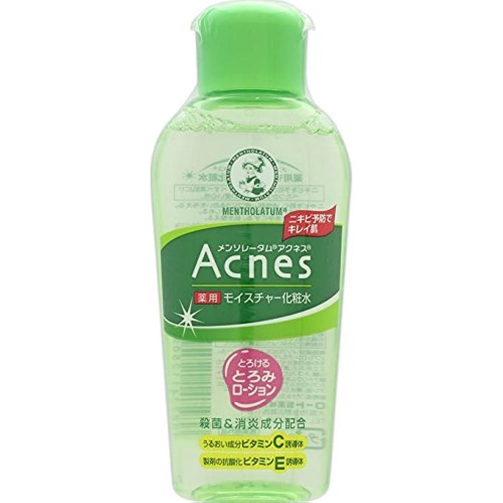 花輪服を洗うこっそりAcnes(アクネス) 薬用モイスチャー化粧水 120mL【医薬部外品】