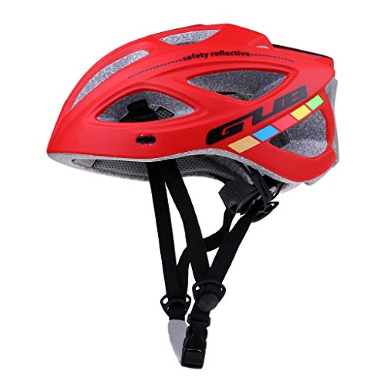 スリム出費ドラフトFLAMEER 18個通気孔 サイクリングヘルメット 自転車ヘルメット 道路マウンテンバイク 安全帽子 全3色